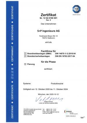 Fachfirma für BMA nach DIN 14675